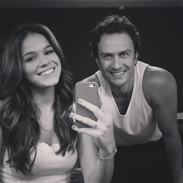 Bruna Marquezine e Gabriel Braga Nunes (Foto: Instagram/Reprodução)