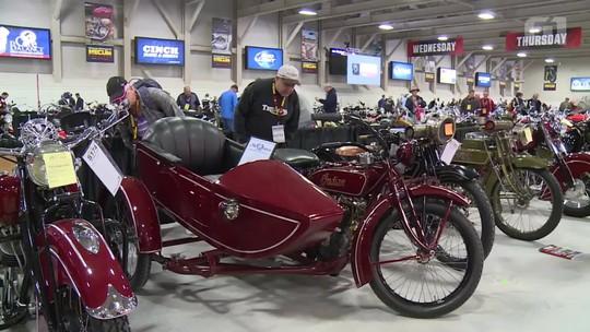 Seis motos raras de Steve McQueen vão a leilão em Las Vegas