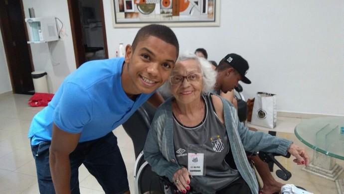 Dona Lourdes - Santos (Foto: Arquivo Pessoal)