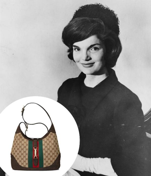Jacqueline Kennedy era apaixonada pelo modelo da Gucci (Foto: Getty Images/ Divulgação)