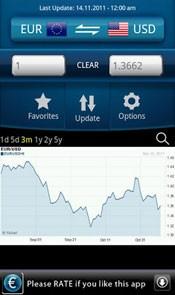EasyCurrency é uma opção de aplicativo para converster moedas em dispositivos Android. (Foto: Reprodução)