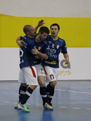 Joinville x São Paulo Liga Futsal  (Foto: Yuri Gomes/Divulgacão)