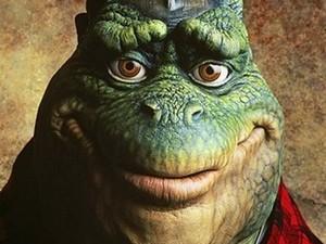 Dino, personagem de 'Família Dinossauro' (Foto: Disney/Divulgação)