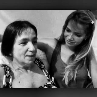 Ex-BBB Fani com a mãe, Adele Mara (Foto: Instagram/ Reprodução)