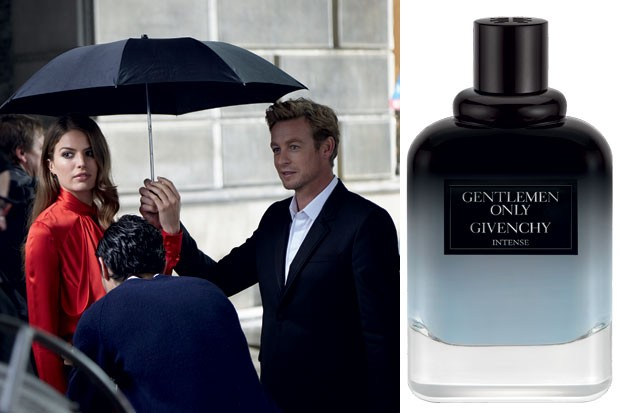 Givenchy Gentlemen Only Intense, Simon Baker (Foto: Divulgação)