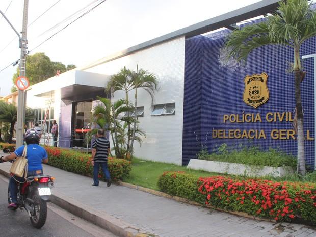 Delegacia Geral da Polícia Civil do Piauí (Foto: Ellyo Teixeira/G1)