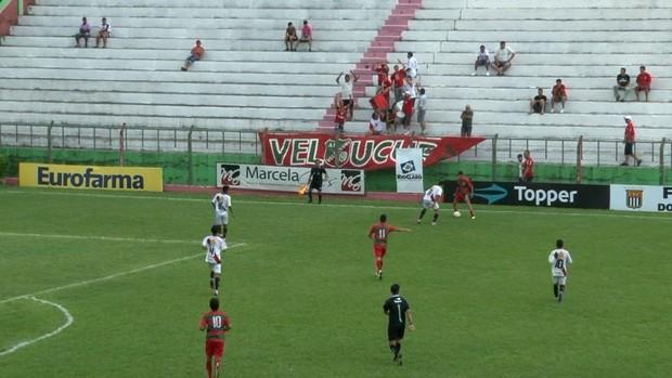 Copa SP: Velo Clube x Itaúna (Foto: Reprodução/ EPTV)
