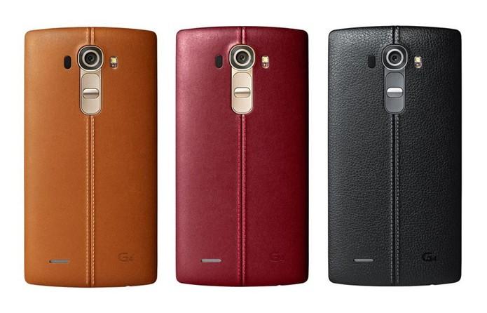 LG deve abandonar plástico, couro e botões traseiros do G4 no próximo top de linha (Foto: Divulgação/LG)