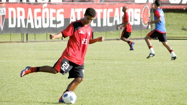 Juninho, atacante do Atlético-GO (Foto: Divulgação/Atlético-GO)