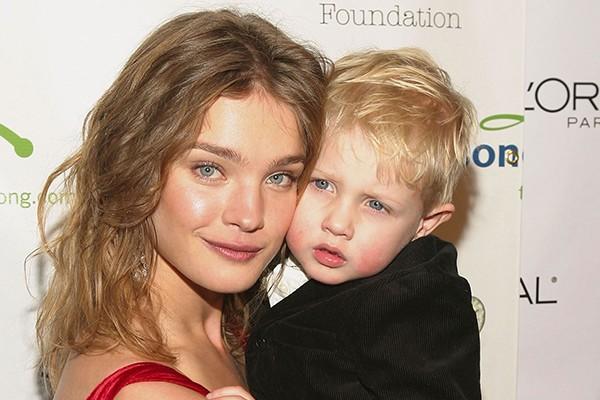 Natalia Vodianova e Lucas Alexander (Foto: Getty Images)