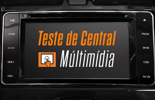 Central multimídia Nissan (Foto: Divulgação)