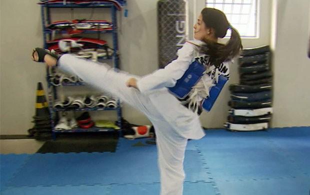 Taekwondo traz vários benefícios aos praticantes (Foto: Reprodução EPTV / Erlei Peixoto)
