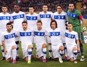 Itália Seleção Euro 29/02/2012 (Foto: Agência AFP)