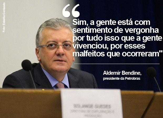 Aldemir Bendine, petrobras (Foto: Estadão Conteúdo)