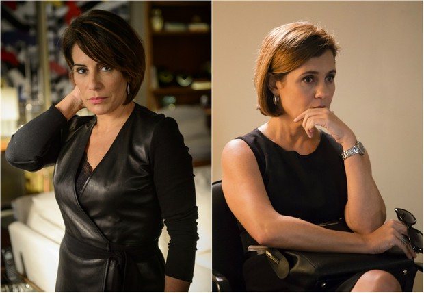 Beatriz (Glória Pires) e Inês (Adriana Esteves)  (Foto: Globo)