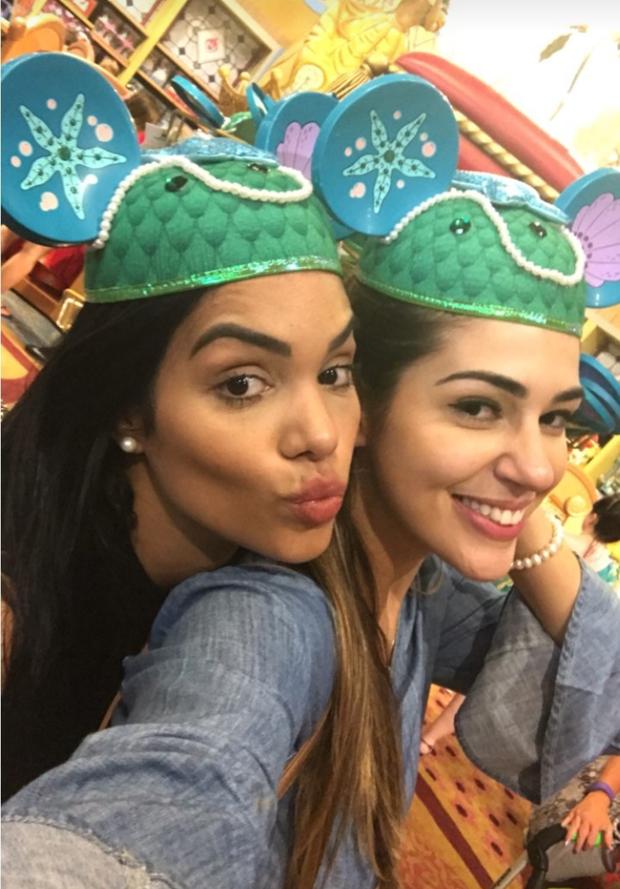 Mayara e Vivian (Foto: Reprodução)
