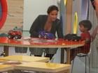 Veja fotos de Ivete Sangalo e o filho em shopping do Rio