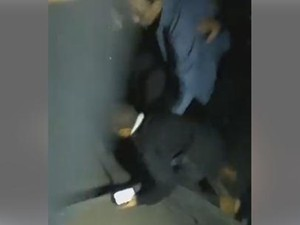 Vídeo mostra estrutura tremer e registra gritos das pessoas (Foto: Reprodução/ Facebook)