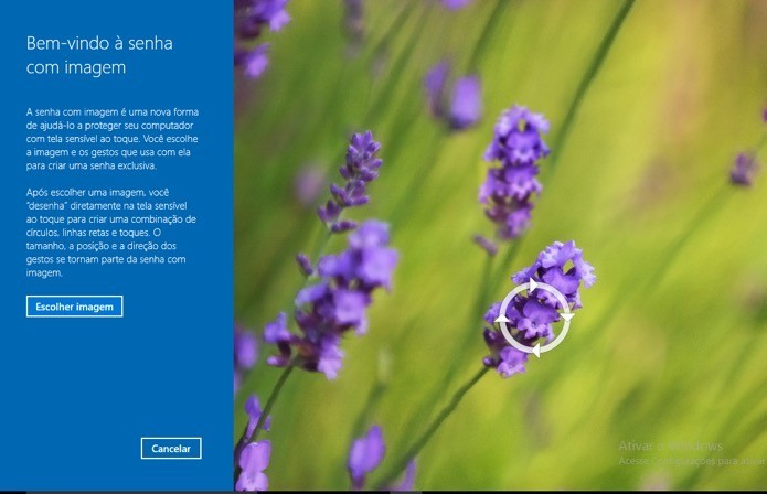 Use uma imagem como senha no Windows 10 (Foto: Reprodução/André Sugai)
