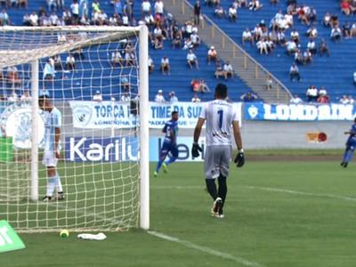Londrina Prudentópolis Estádio do Café (Foto: Reprodução/RPC)