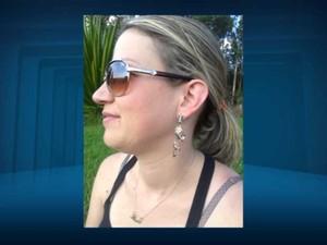 Michele Teshima foi morta com um tiro dentro de casa em Amparo (SP) (Foto: Reprodução EPTV)