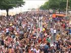 Copacabana recebe a 20ª Parada LGBT debaixo de chuva e confusão