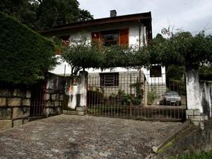 Casa da Morte, no bairro Caxambu, em Petrópolis (Foto: Andreia Constâncio)