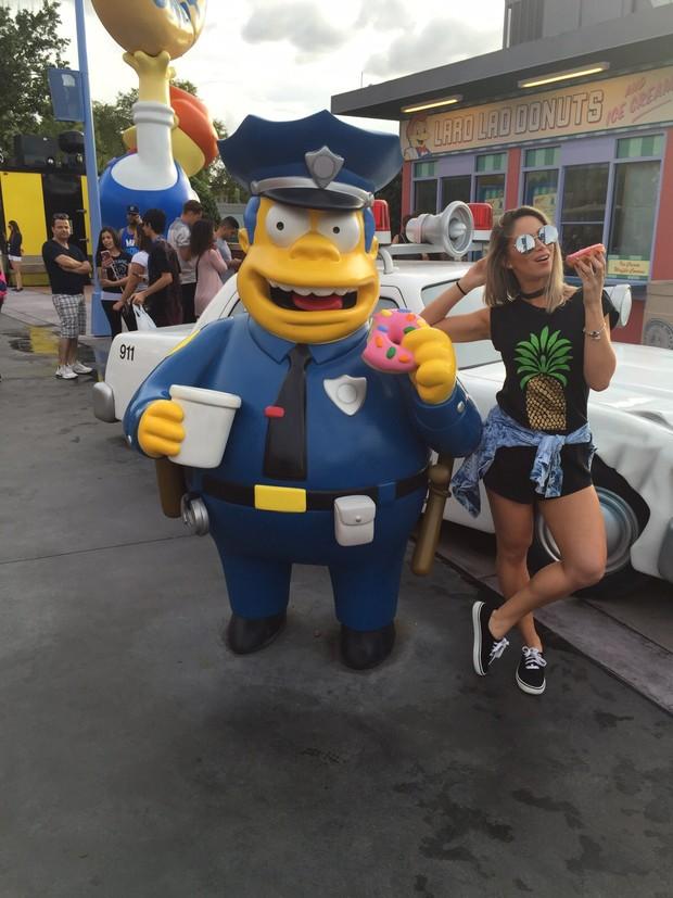 Carol Narizinho em Miami (Foto: Br Assessoria / Divulgação)