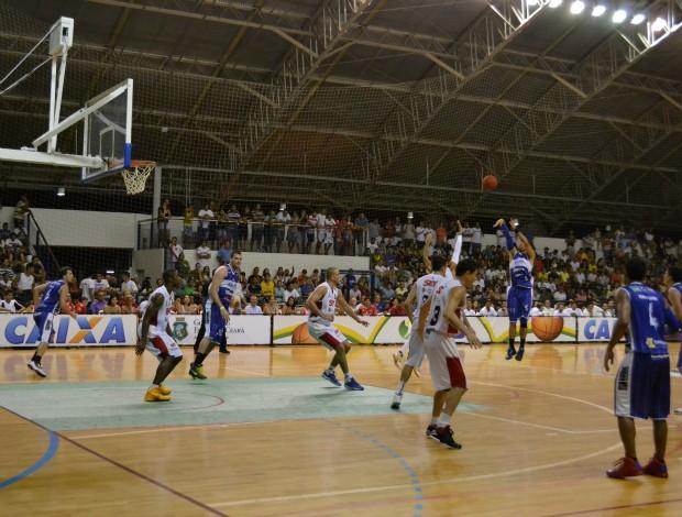 Diego Limeira Basquete Cearense (Foto: Juscelino Filho/Globoesporte.com)