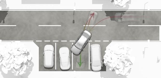 Park Assist 3.0 do Volkswagen Passat (Foto: Divulgação)
