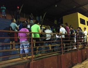 Apresentação do Guajará foi no estádio João Saldanha (Foto: Junior Freitas)