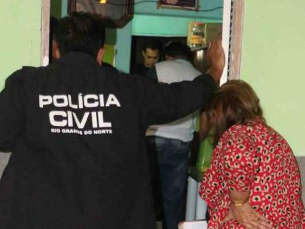 Crime foi cometido na madrugada desta segunda (28), em Mossoró (Foto: Marcelino Neto/G1)