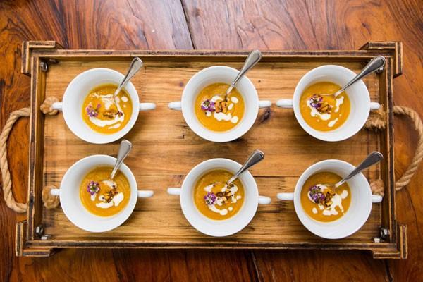 Sopa de abóbora (Foto: Divulgação)