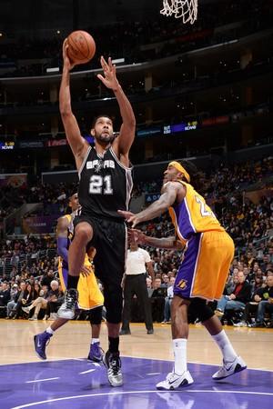 Tim Duncan, San Antonio Spurs, 25 mil pontos (Foto: Getty Images)