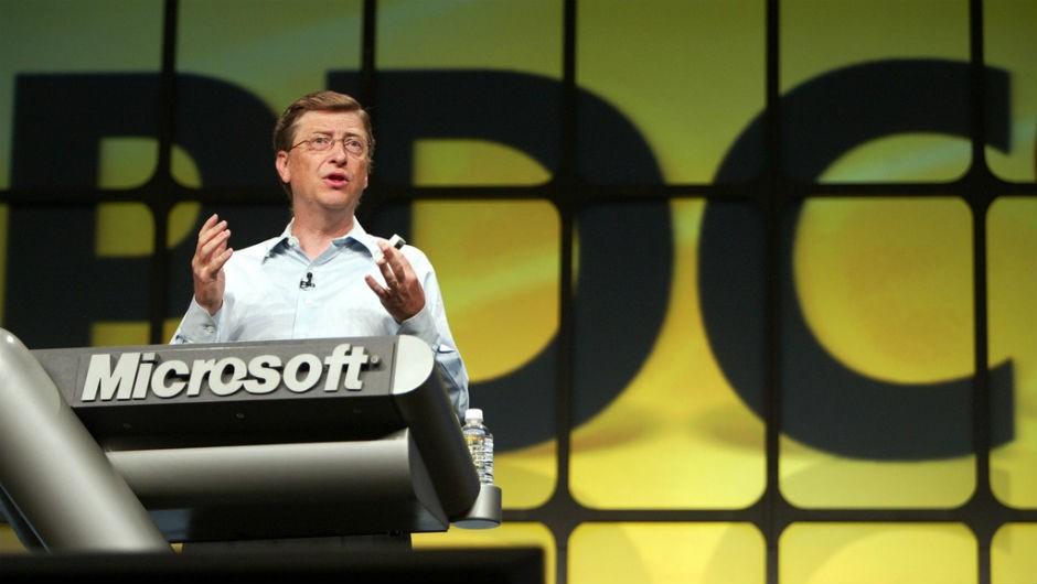Microsoft: Fundada em 1975, a companhia foi criada por Bill Gates e Paul Allen quando ainda estudavam na Universidade de Harvard. Atualmente, a empresa tem uma receita de mais de US$ 93 bilhões (Foto: Flickr/Alan Dean)