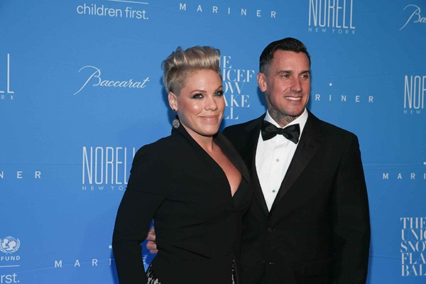 Pink e Carey Hart (Foto: Getty Images)