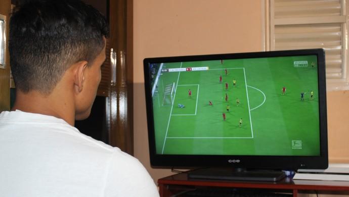 Wendell Lira - atacante (Foto: Fernando Vasconcelos / GloboEsporte.com)