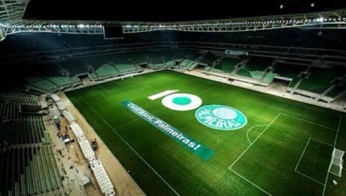 Allianz Parque, centenário Palmeiras (Foto: Divulgação)