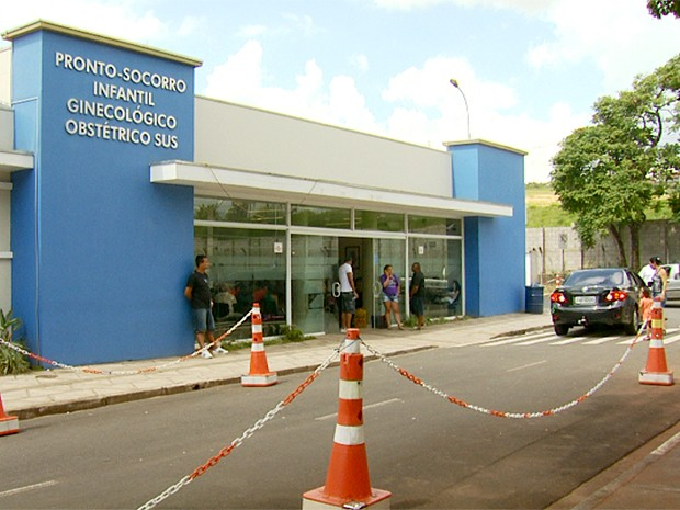 Hospital e Maternidade Celso Pierro, em Campinas  (Foto: Reprodução EPTV)