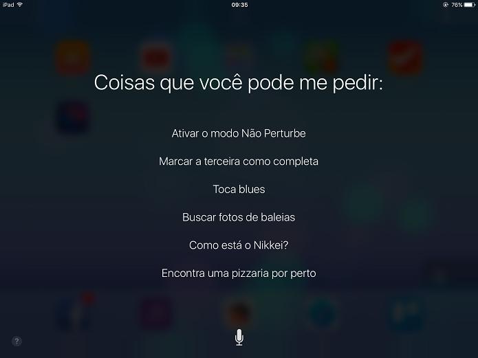 Siri está mais inteligente no iOS 10.3 (Foto: Felipe Alencar/TechTudo)  (Foto: Siri está mais inteligente no iOS 10.3 (Foto: Felipe Alencar/TechTudo) )