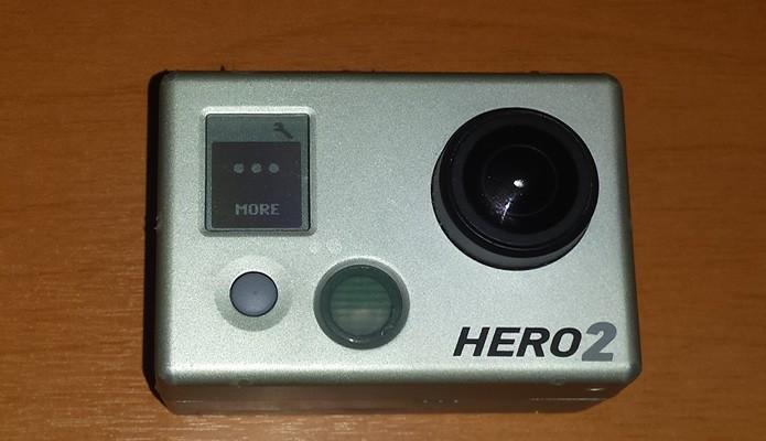 """Na HD Hero2, passe pelas opções do Menu de Configurações e aperte o botão S para chegar até ao modo """"Excluir"""" (Foto: Reprodução/Daniel Ribeiro)"""