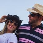 Casal só namora uma vez por ano, em Barretos (Mateus Rigola/G1)