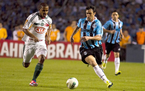 Kleber, Palmeiras x Grêmio (Foto: Alexandro Auler / Agência Estado)