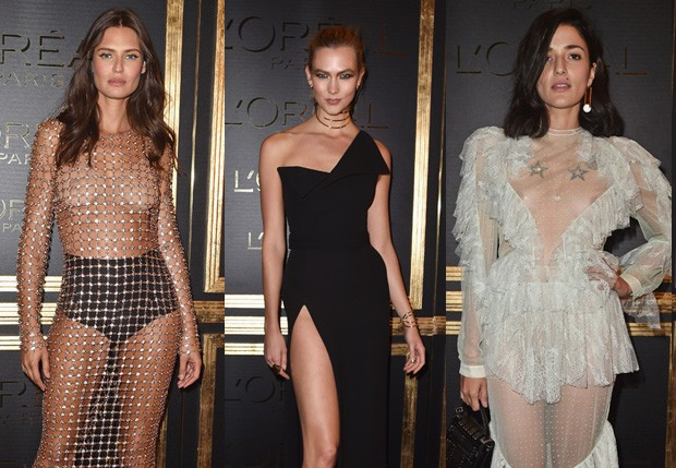 Bianca Balti, Karlie Kloss e Eleonora Caresi (Foto: Getty Images)