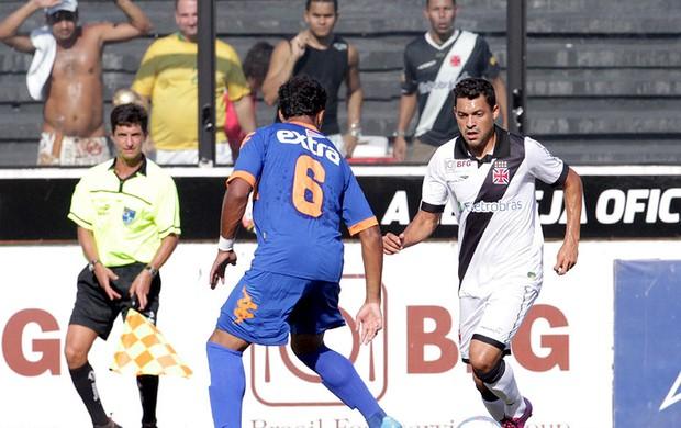 Eder Luis na partida do Vasco contra o Audax (Foto: Marcelo Sadio / Site do Vasco)