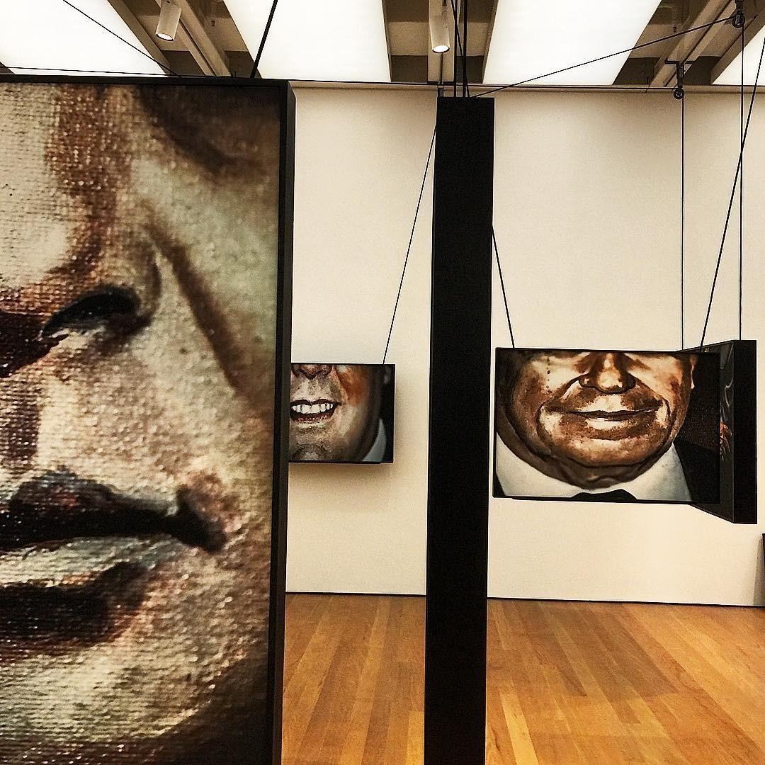 A exposição Corpo a Corpo (Foto: Reprodução/Instagram @paulovicelli)