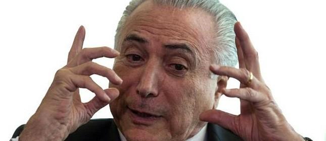 Michel Temer, presidente da república (Foto: André Coelho / O Globo)