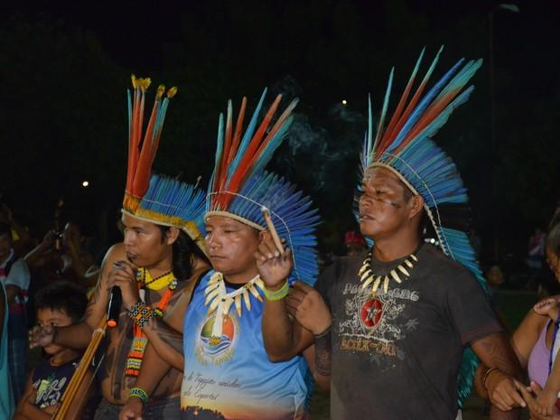 Jogos indígenas do Baixo Amazonas e Tapajós (Foto: Michael Douglas/Globoesporte.com)