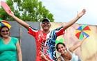 Galo leva 80 mil foliões à Av. das Torres (Camila Henriques/G1 AM)