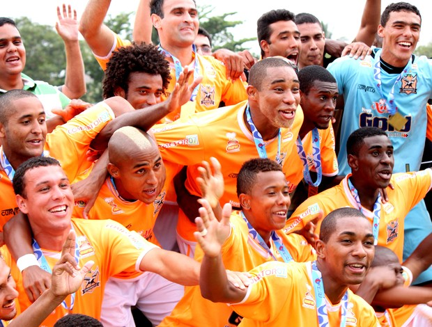 Nova Iguaçu Campeão da Copa Rop 2012 (Foto: Site Nova Iguaçu)